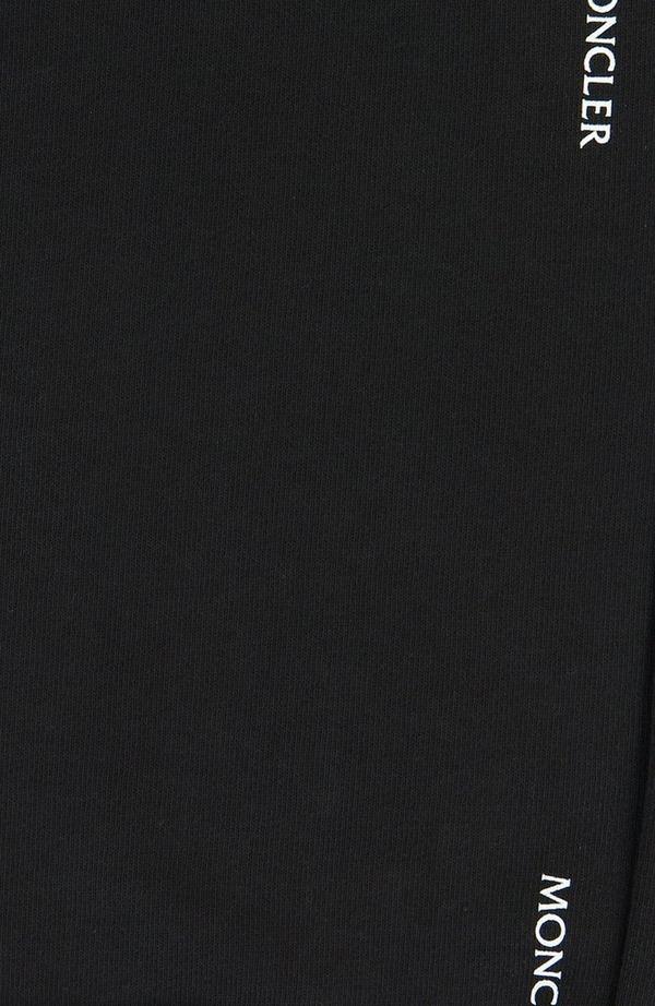 Embossed Logo Jog Pant - Black