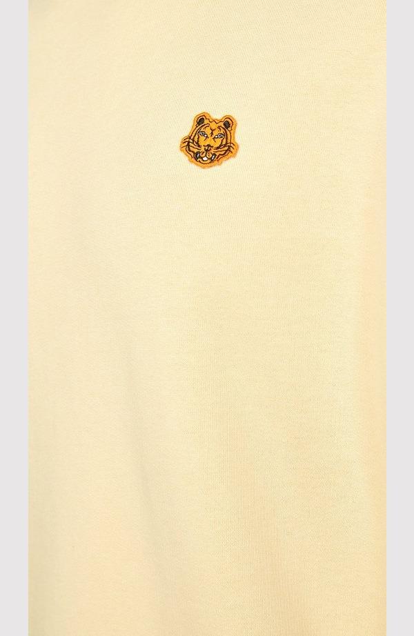 Tiger Crest Crew Neck Sweatshirt