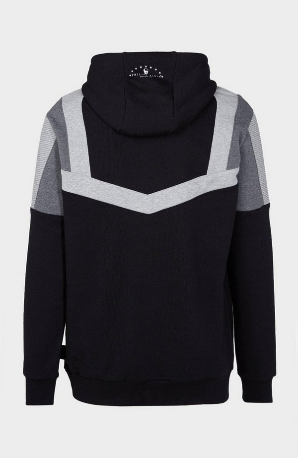 Iconic Plein Striped Hoodie