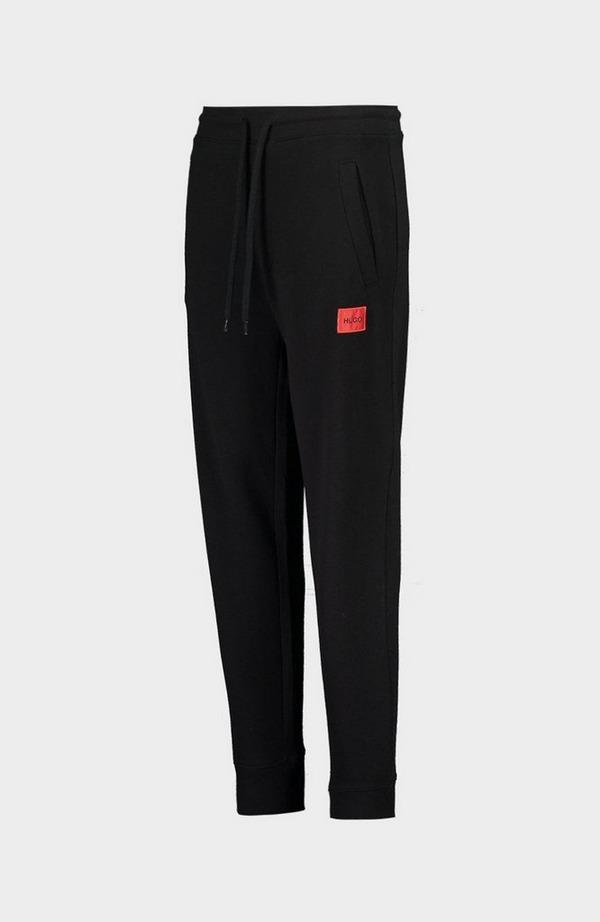 Doak204 Red Logo Jogging Bottoms - Black