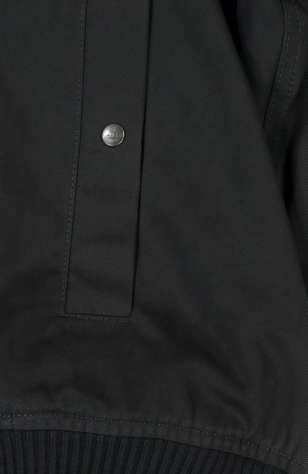 Detached Hood Bomber Jacket