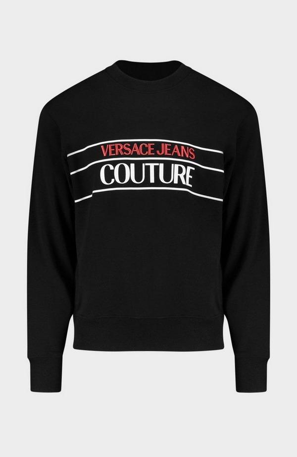 Mixed Embroidered Sweatshirt