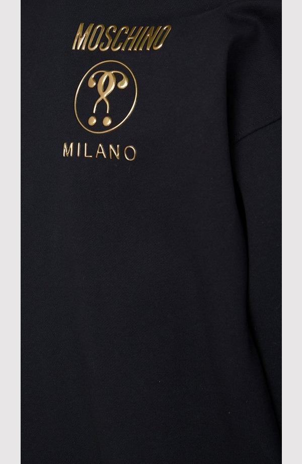 Gold Outline Logo Sweatshirt