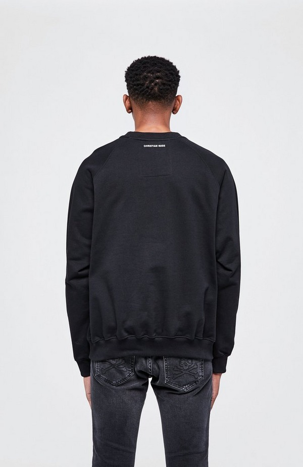 Iconic Ii Glitter Plate Crewneck Sweatshirt