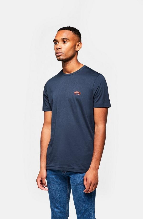 Curved Logo Short Sleeve T-Shirt