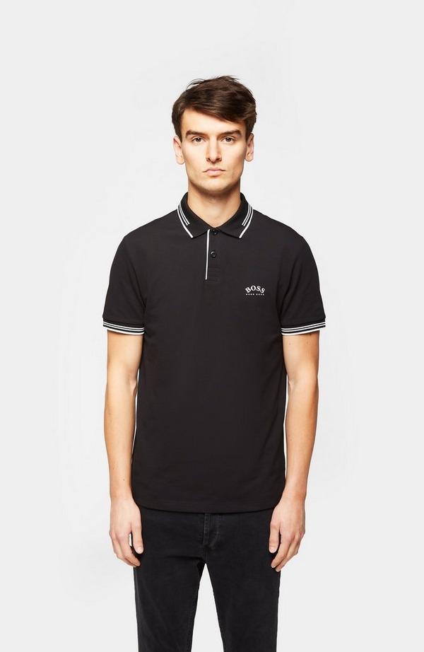 Paule Collar Logo Short Sleeve Polo