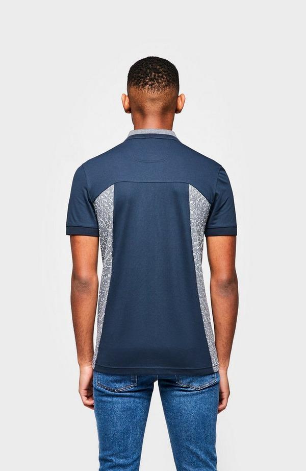 Paule6 Pixel Short Sleeve Polo