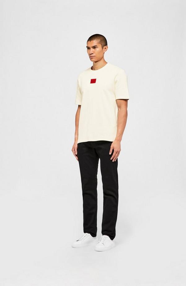 Dorkshire Red Patch Short Sleeve Sweatshirt