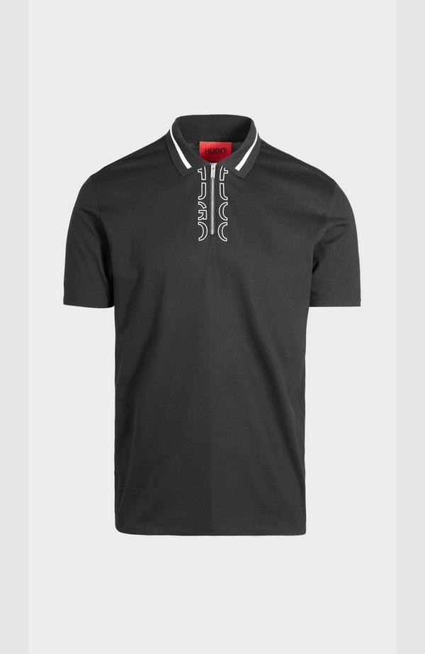 Dolmar213 Zip Neck Short Sleeve Polo