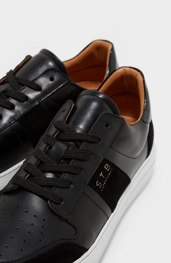 Aren Court Leather Trainer