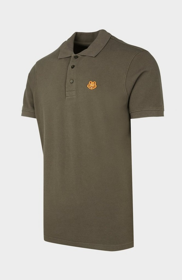 Tiger Crest Short Sleeve Polo