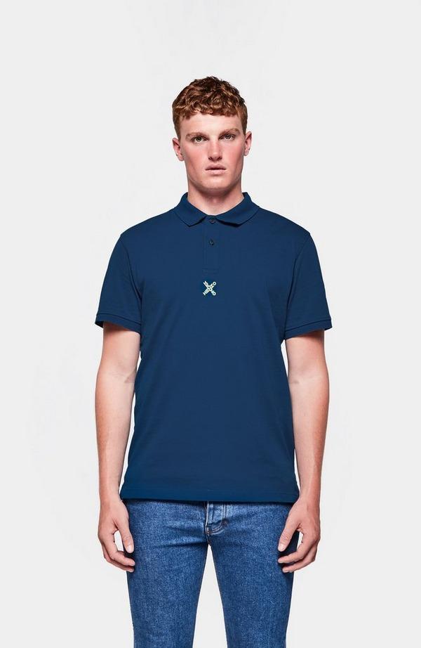 Sport Logo Short Sleeve Polo