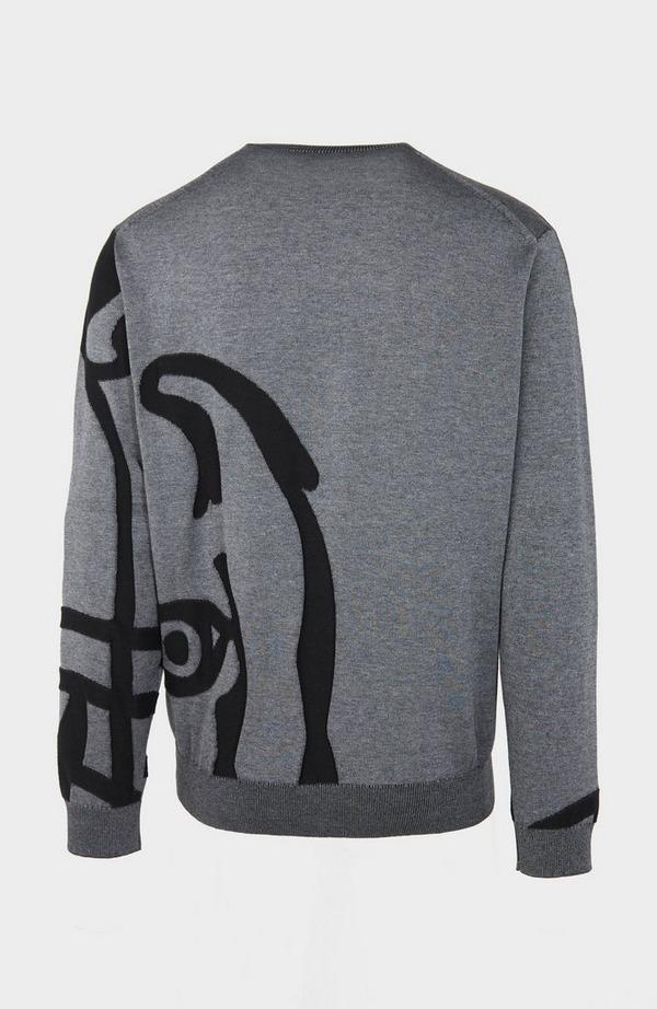 K Tiger Knitted Jumper