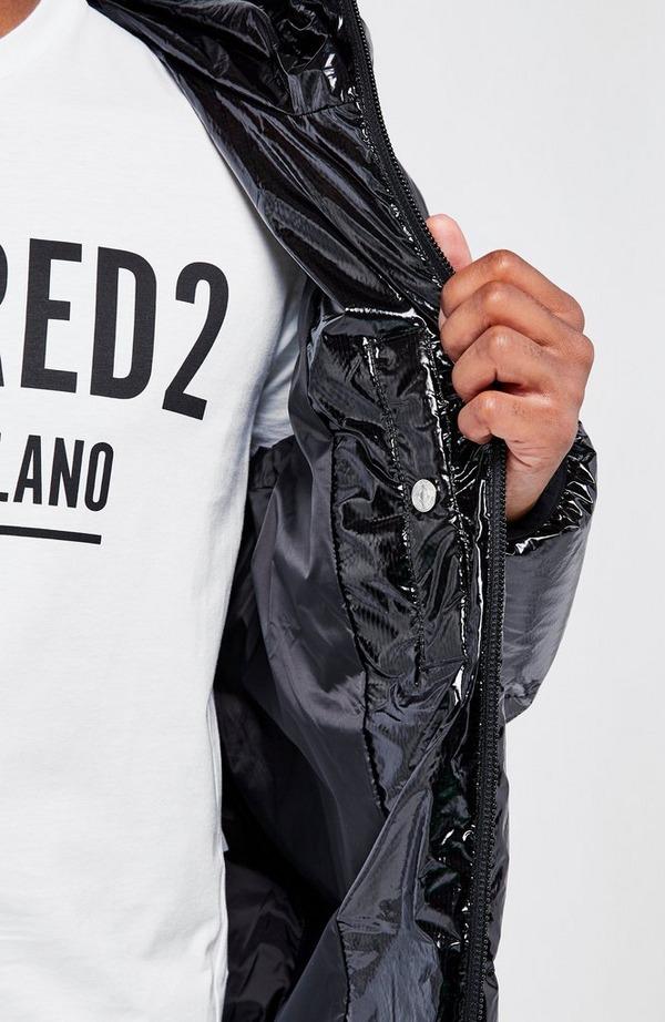 Gloss Hooded Puffa Jacket