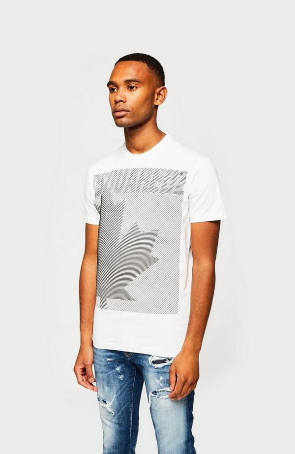 Leaf Graphic Short Sleeve T-Shirt