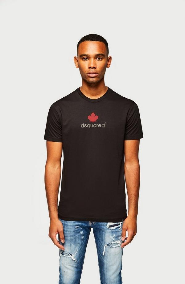 Mini D2 Leaf Short Sleeve T-Shirt