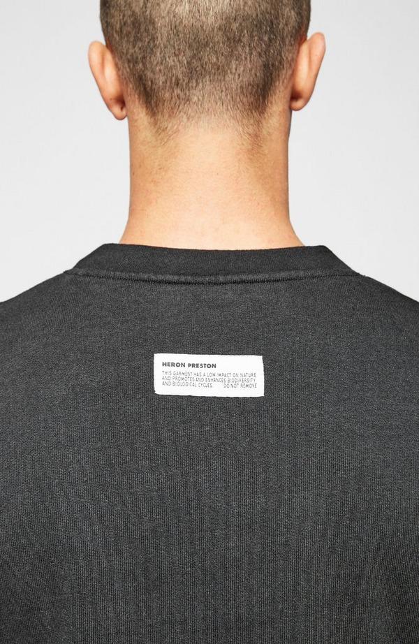 Split Herons Crew Neck Sweatshirt