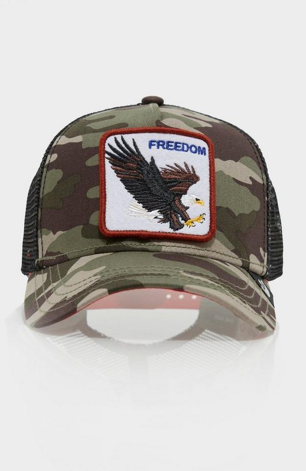 Freedom Camo Trucker Cap