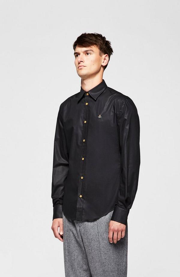Chest Orb Long Sleeve Slim Shirt