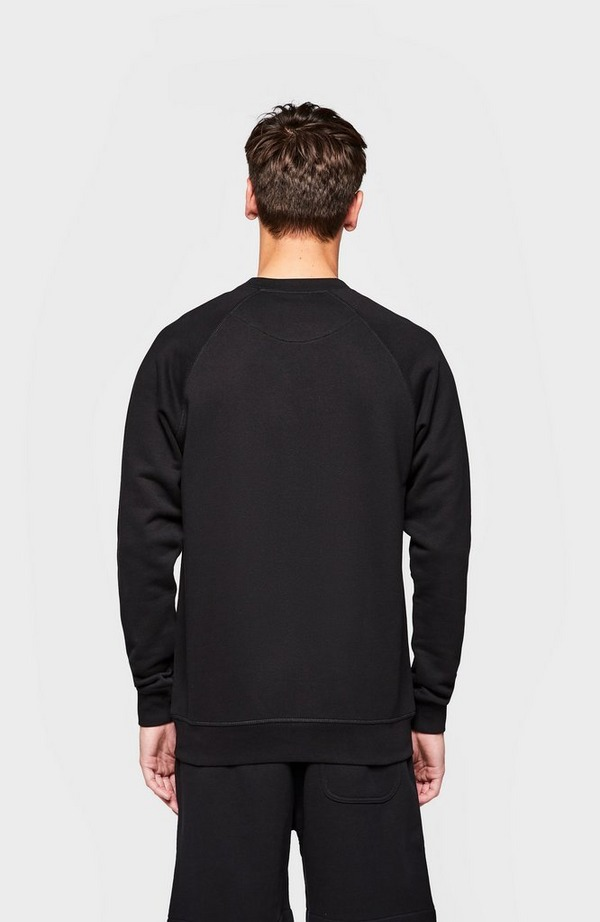 Chest Orb Raglan Crew Neck Sweatshirt