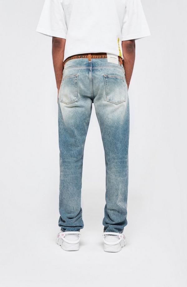 5 Pocket Slim Contrast Jean