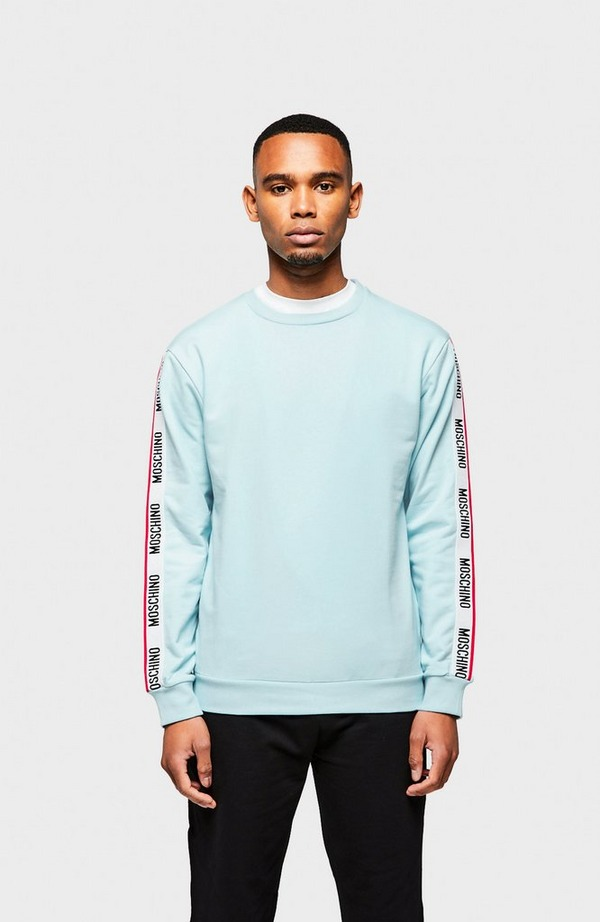 Tape Arm Crew Neck Sweatshirt