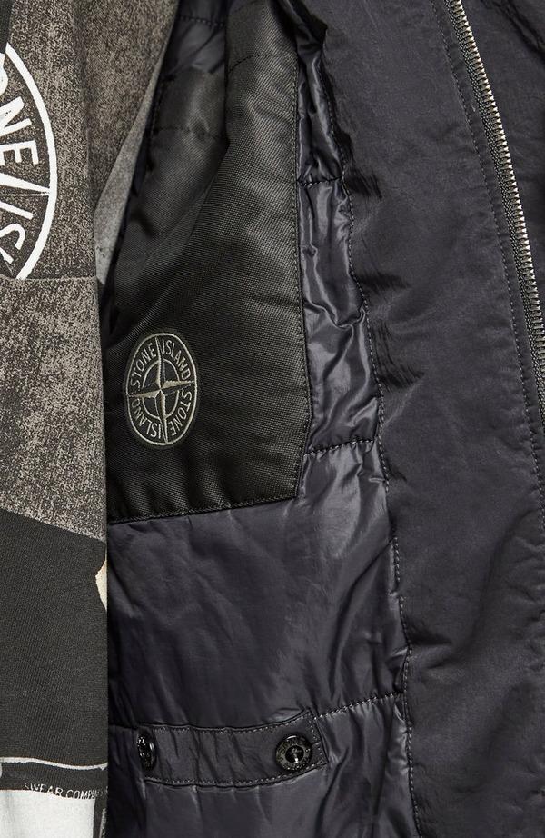 Nylon Twill Trench Coat