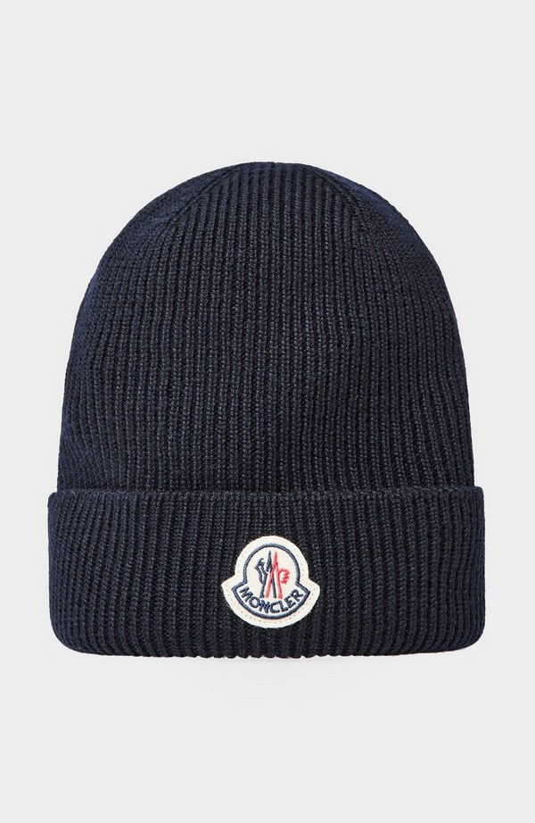 Badge Beanie Hat
