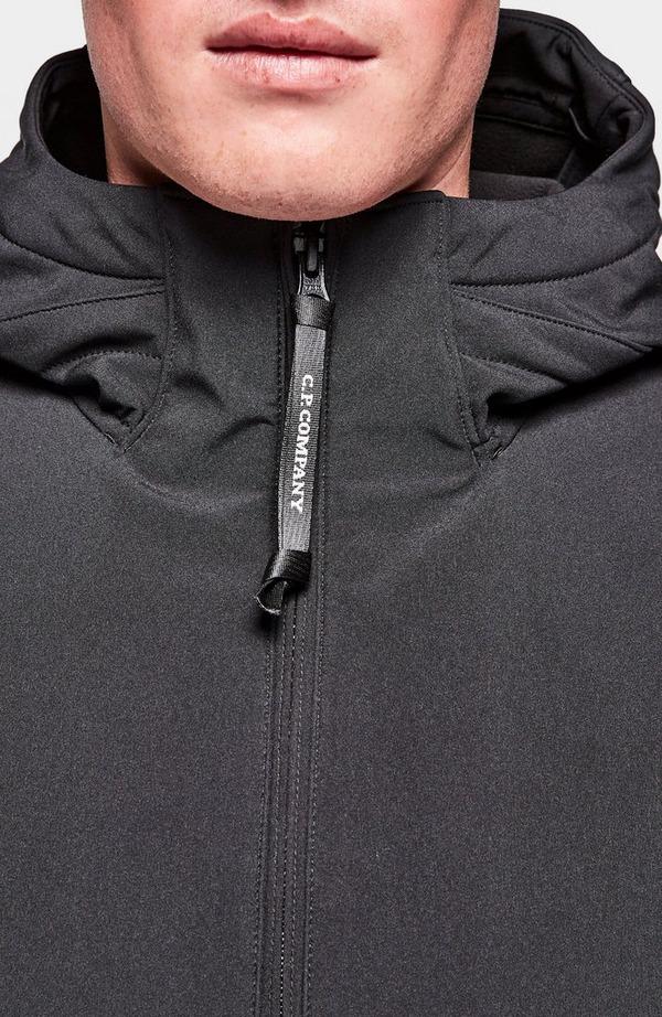 Lens Arm Soft Shell Hooded Jacket
