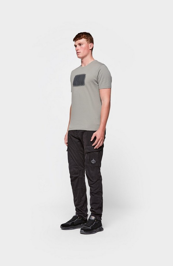 Contrast Large Logo Short Sleeve T-Shirt