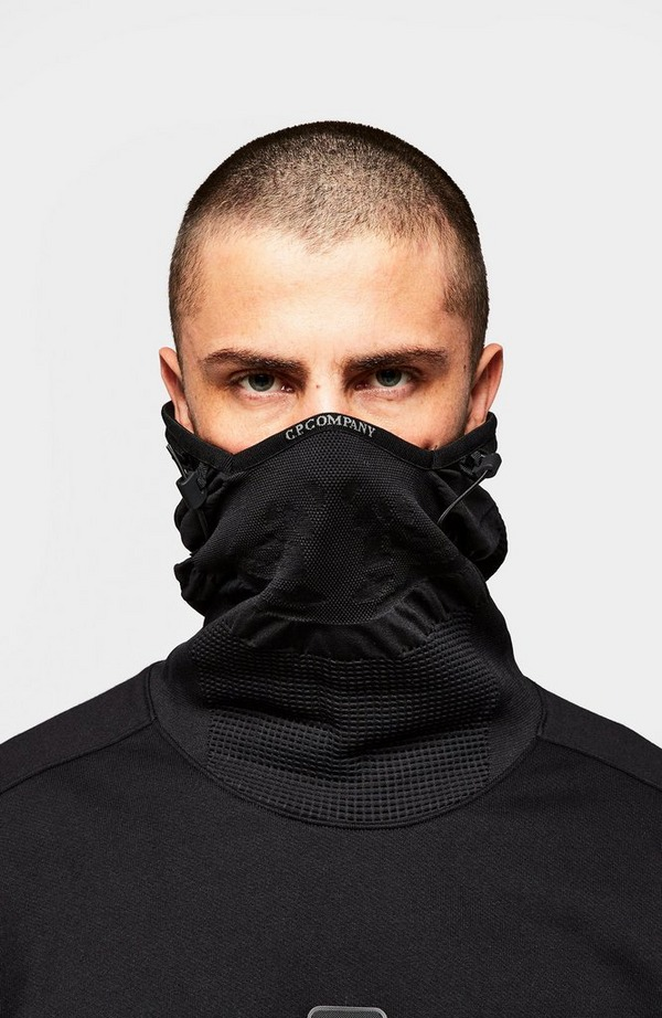 Metropolis Mask Insert Pullover Hoodie