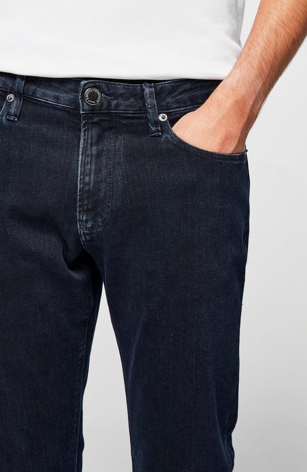Contrast Stitch Slim Denim Jean
