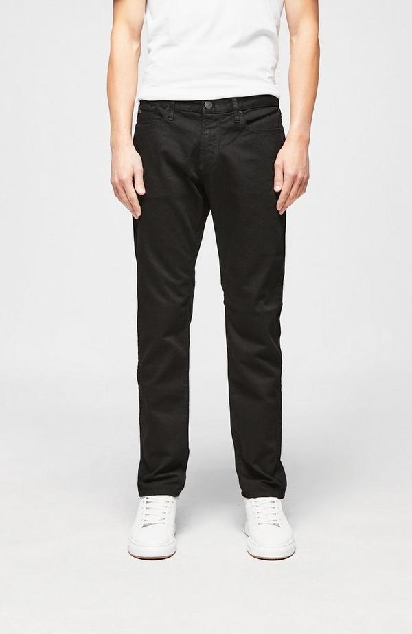 J06 Jet Black Slim Denim Jean