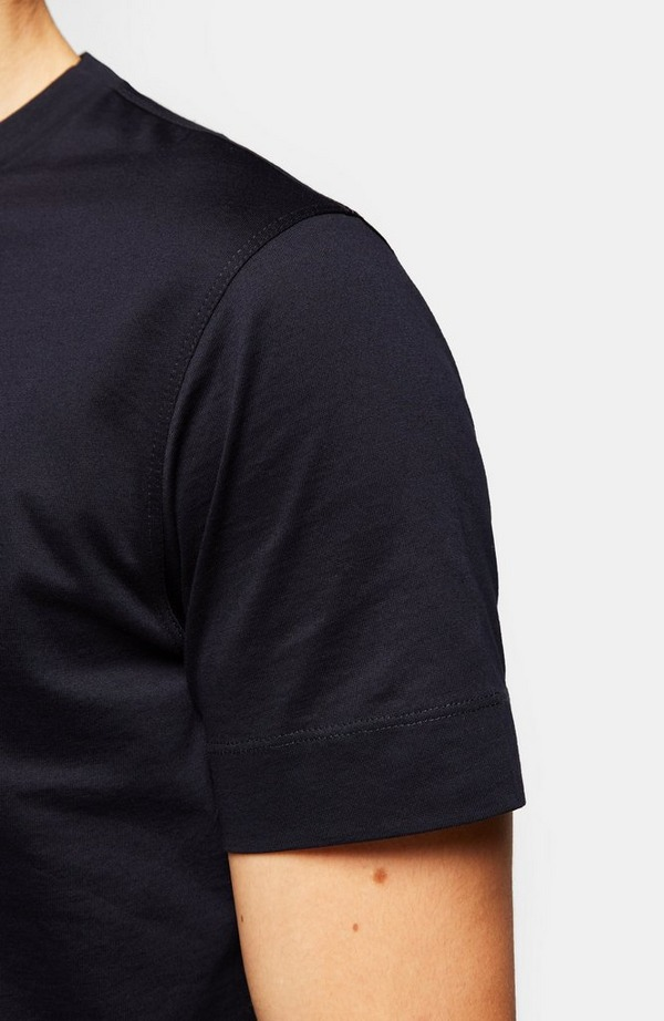 Small Embroidered GA Eagle Short Sleeve T-Shirt
