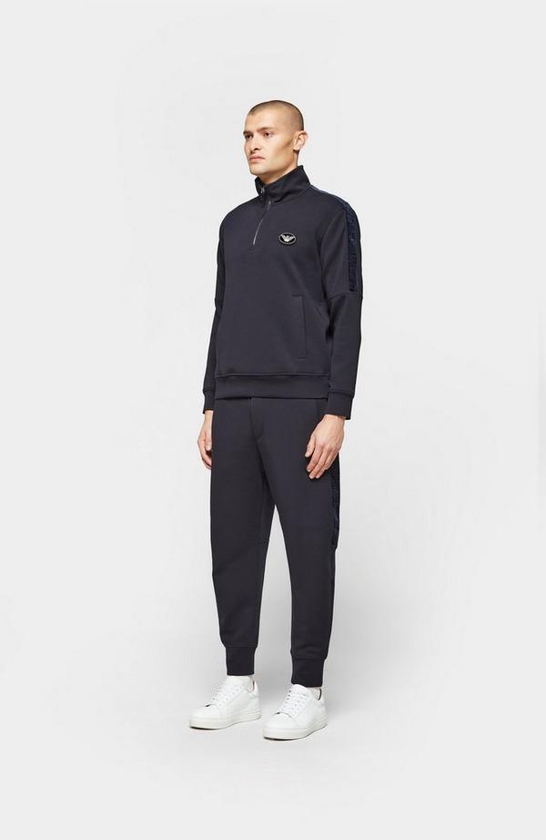 Velvet Tape 1/2 Zip Sweatshirt