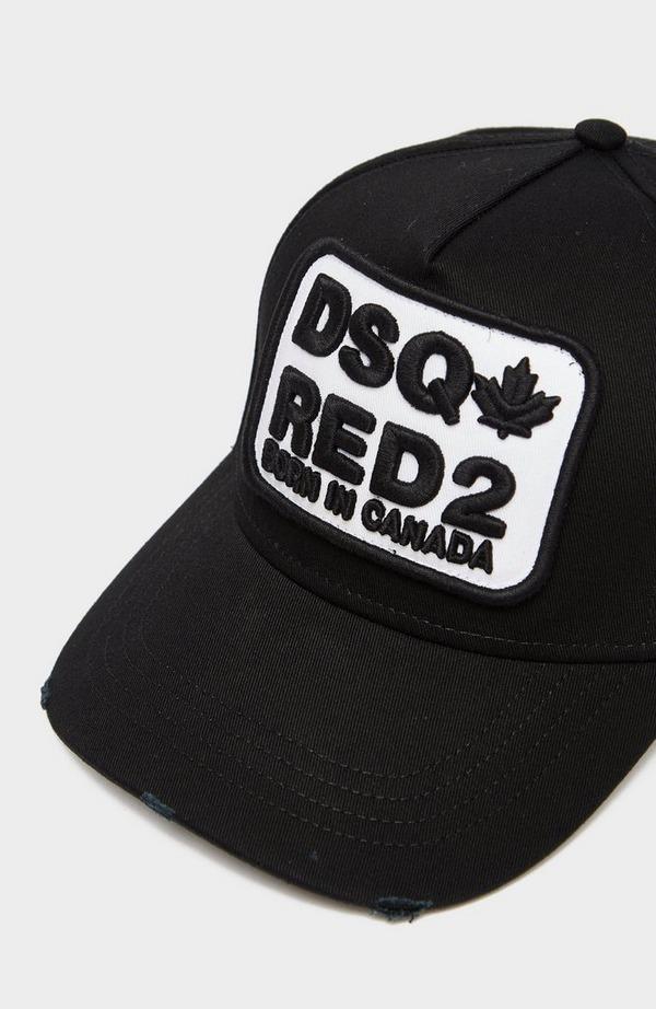 Dsq2 Red 2 Patch Cap