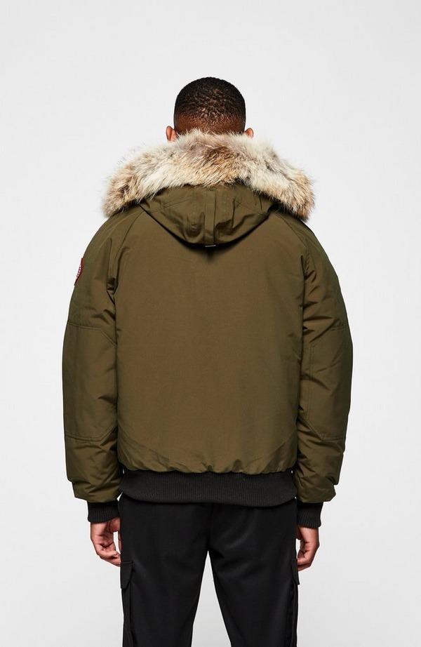 Chilliwack Fur Hooded Bomber Jacket