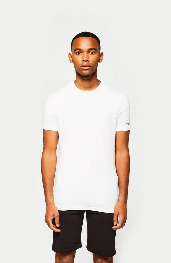 Double Arm Logo Short Sleeve T-Shirt