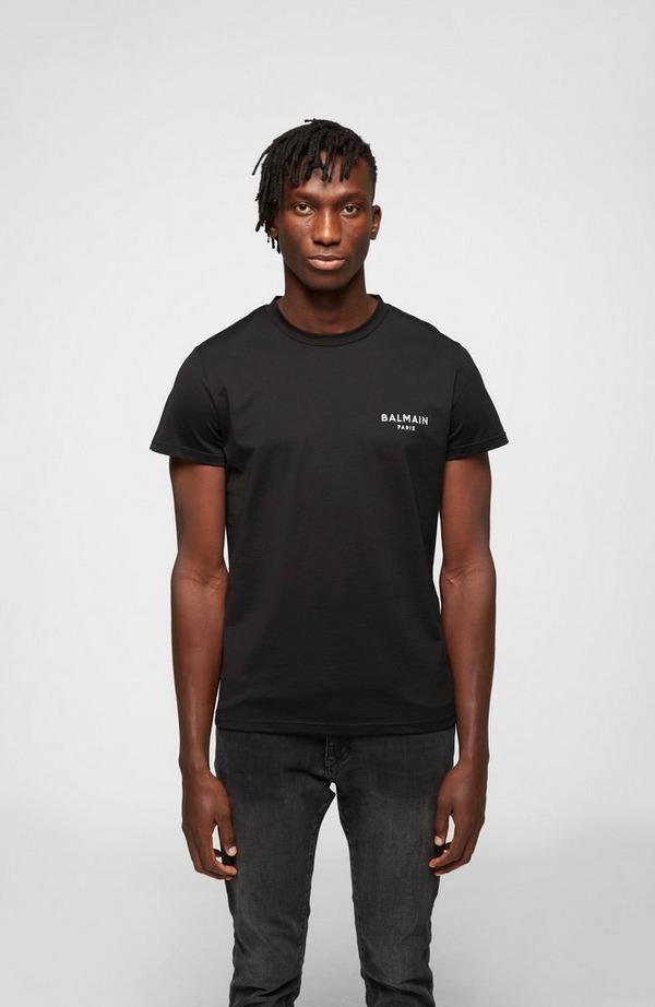 Chest Logo Crew Neck Short Sleeve T-Shirt