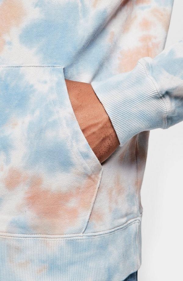 Tie Dye Pullover Hoodie