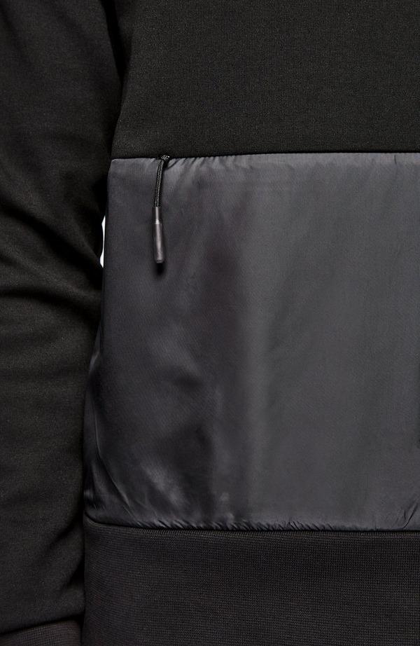 Nylon Pocket Hoodie