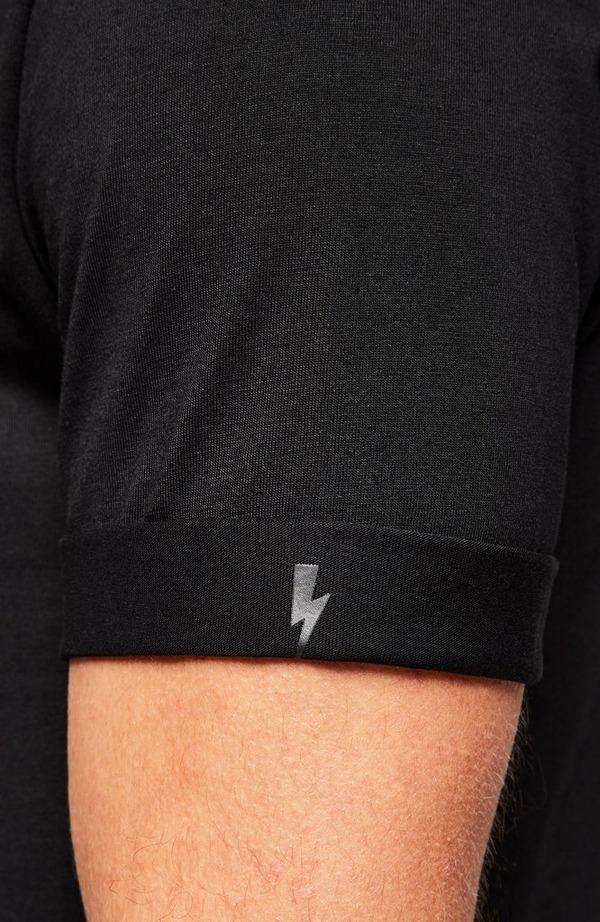 Nylon Ma-1 Chest Pocket T-Shirt