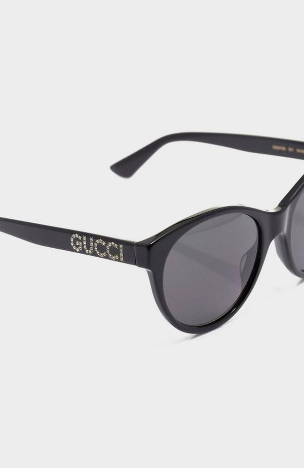Diamante Side CatEye Sunglasses