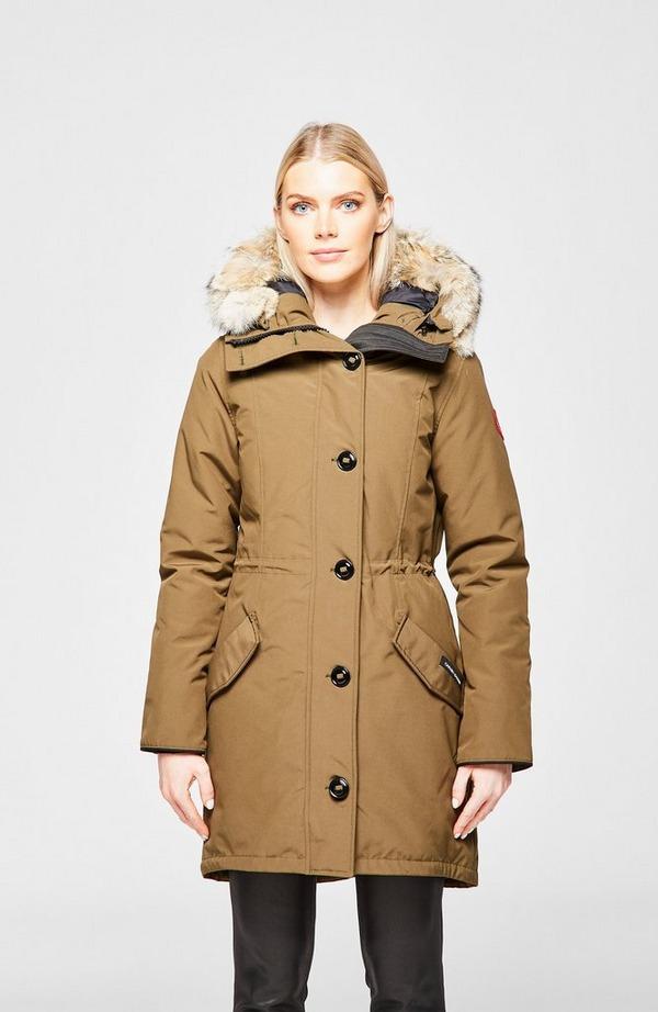 Rossclair Fur Hooded Parka