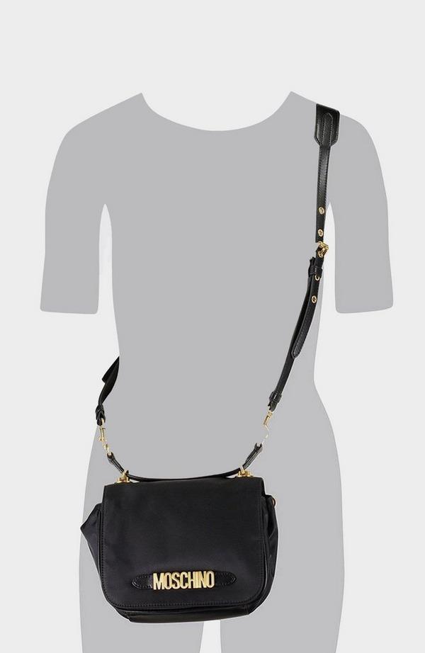 Nylon Letters Shoulder Bag
