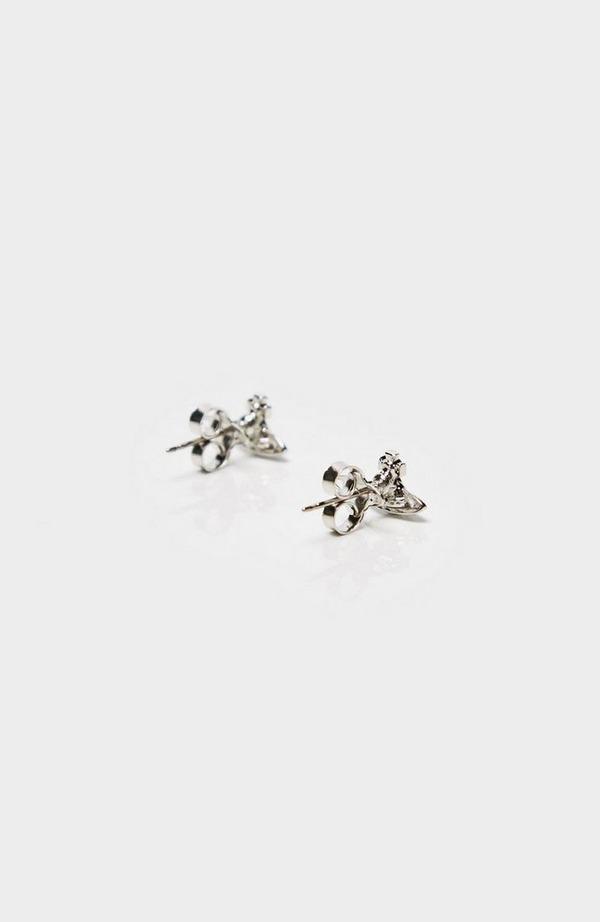 Lorelei Stud Earrings Colour: Silv W005767