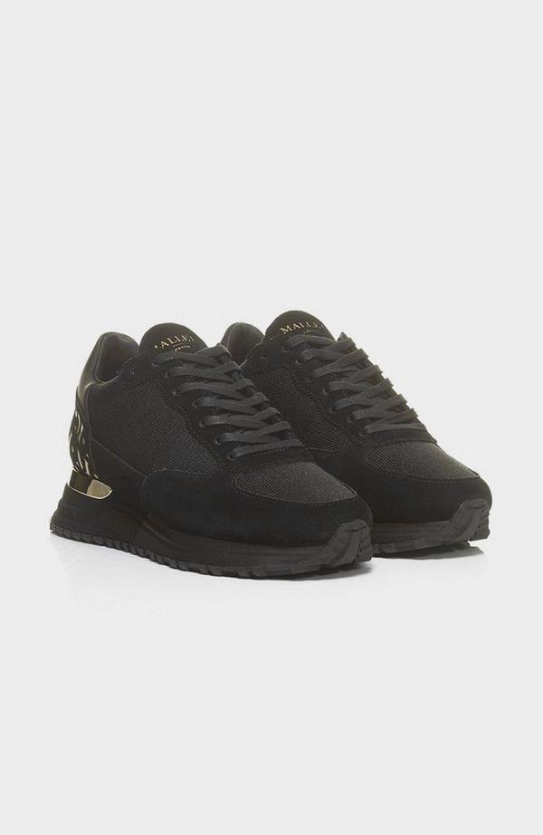 Popham Black & Gold Trainer - Black & Gold