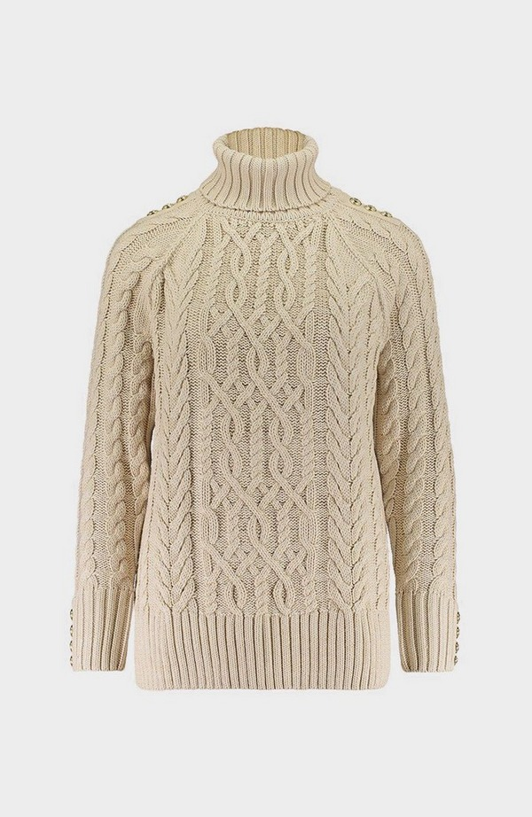 Greenwich Chunky Cable Jumper