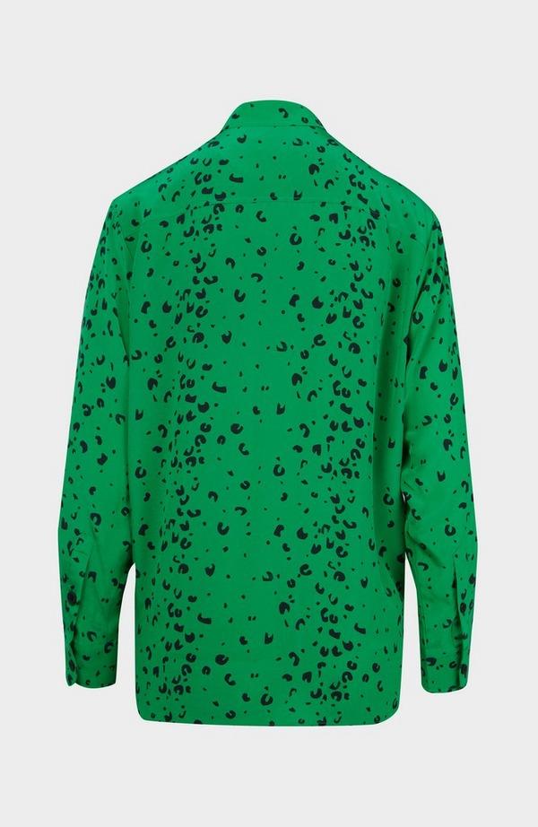 Small Cheetah Silk Shirt