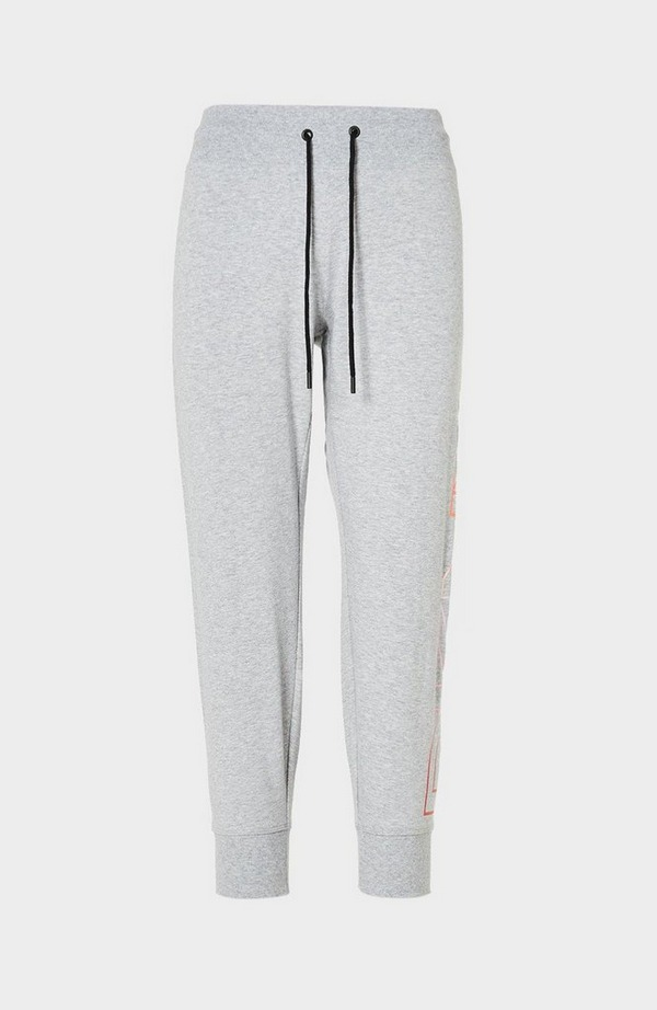 Ombre Logo Cropped Jogging Bottoms